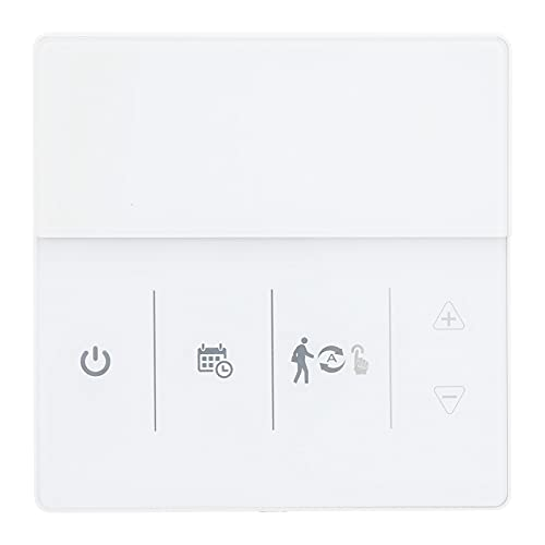 Eujgoov HY609WE WiFi Smart Thermostat Programmable Temperature Controller 5℃-35℃ Room Temperature Thermostat with LCD Display