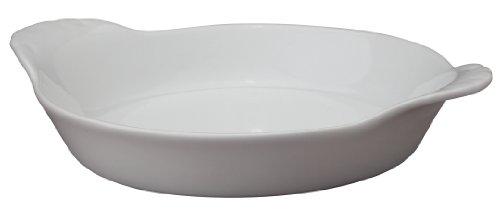 HIC Harold Import Co. 1 X 98030 Porcelain Round Au Gratin Dish, 5', 4 Oz 98030-HIC, 1 EA