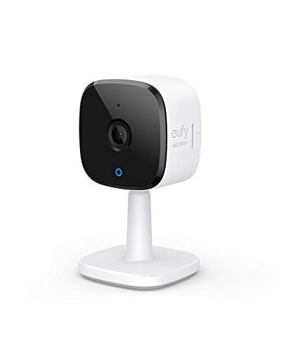 eufy Security Solo IndoorCam C22, 1080p Security Indoor Camera, Plug-in Camera with Wi-Fi, Human and Pet AI, Voice Assistant Compatibility, Night Vision, Two-Way Audio, Homebase not Compatible