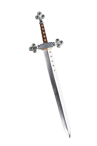 Disguise Men's Lion's Sword Costume Accessory, Silver, Adult