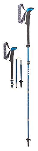LEKI Micro Vario Carbon Trekking Pole Pair - 110-130 Blue
