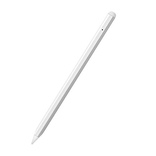 Stylus Pen for iPad with Palm Rejection and Magnetic Design, Precise Writing Stylus Pencil for Drawing, Compatible with iPad (2018-2020), iPad Air 3rd Gen, iPad Mini 5th, iPad Pro (11/12.9')