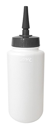 A&R Sports WBESTIP-W Extended Tip Water Bottle, White
