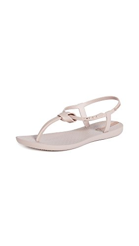 Ipanema Women's Ellie T-Strap Sandals, Beige/Beige, 6 M US