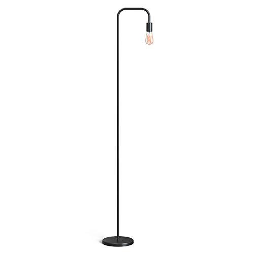 TECKIN Industrial Floor Lamp, Floor Lamps for Living Room, 70' Standing Lamp, Metal Minimalist Boho Decor Lamp for Bedroom, Reading Room, Office, ETL Listed, E26/E27 Socket