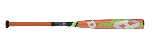 Wilson DeMarini CF8 Barrel League Baseball Bat, 31'/21 oz, Neon Orange/Neon Green