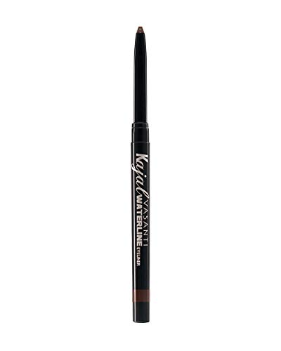 Vasanti Kajal Waterline Eyeliner - Hazel Brown - Safe to use on Waterline and Tightline (Upper Waterline) - Ophthalmologist Tested and Approved - Paraben Free, Vegan Friendly, Cruelty Free