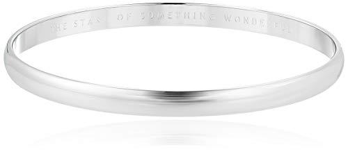 Kate Spade New York Her Day to Shine Start Something Wonderful Bangle Silver One Size