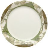 Corelle Impressions 9-Inch Luncheon Plate, Textured Leaves