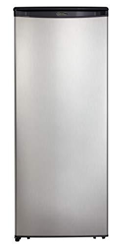Danby DAR110A1BSLDD Mid Size Refrigerator, silver