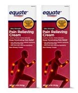 Equate Ultra Strength Pain Relieving Cream Muscle Rub, 4-Ounce Tube (Pack of 2)
