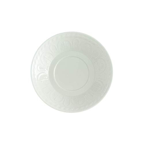 Villeroy & Boch Cellini Breakfast/Cream Soup Cup Saucer, 5 in, White