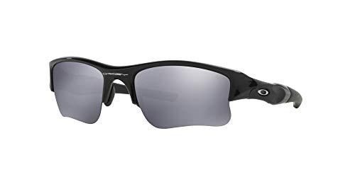 Oakley OO9009 Flak Jacket XLJ Sunglasses with Accessories Bundle (Jet Black/Black Iridium (03-915)