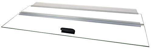 H2Pro 20' Glass Canopy 10 Gallon Aquarium Fish Tank (19.33 x 9.65 x 0.16in)