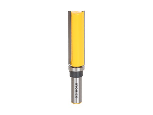 Yonico 14130 3/4-Inch Diameter Flush Trim Template Router Bit 1/2-Inch Shank