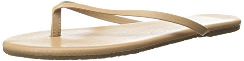 TKEES Women's Foundation Flip Flop,Cocobutter,7 M US