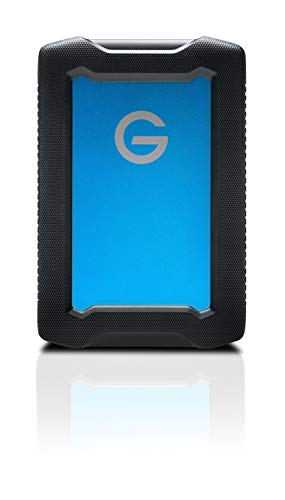 G-Technology 4TB ArmorATD All-Terrain Rugged Portable External Hard Drive - USB-C, USB 3.1 Gen 1 - 0G10435-1