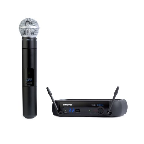 Shure PGXD24/SM58-X8 Digital Wireless Microphone System with SM58 Handheld Vocal Mic