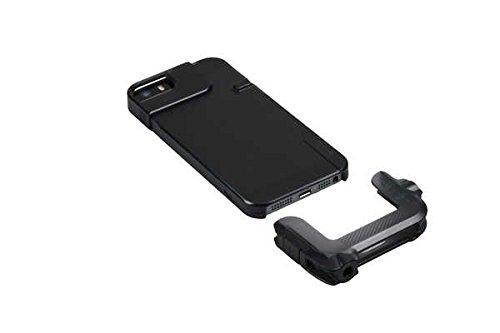 olloclip Quick-Flip Case for iPhone 5/5s - Retail Packaging - Translucent Black