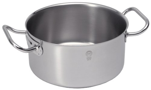 Sitram Catering 3.2 Quart Commercial Stainless Steel Braisier/Stewpot