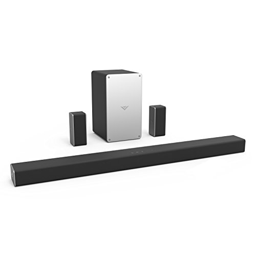 """VIZIO Sound Bar for TV, 36"""" 5.1 Surround Sound System for TV with Wireless Subwoofer and Bluetooth, Channel Home Theater Home Audio Sound Bar – SB3651-F6"""