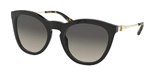 Tory Burch TY7137 170911 54M Black/Light Grey Gradient Cat Eye Sunglasses For Women+FREE Complimentary Eyewear Care Kit