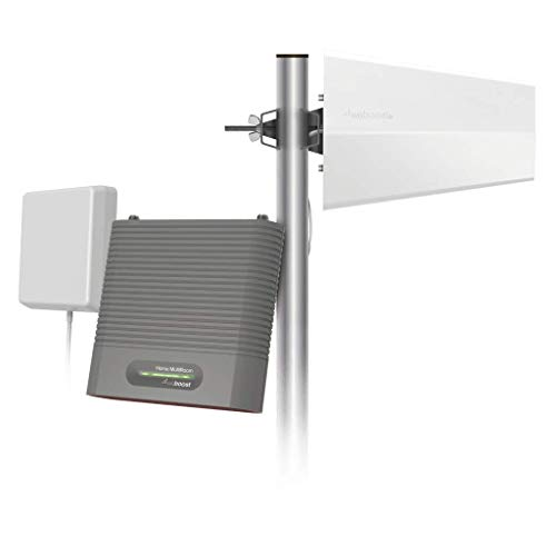 weBoost Destination RV (470159) Cell Phone Signal Booster Kit for Stationary Use Only | USA Company | All Networks & Carriers - Verizon, AT&T, T-Mobile, Sprint & More | FCC Approved