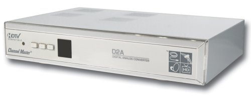 Channel Master CM-7000 Digital to Analog TV Converter Box with S-Video