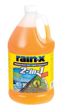 Rain-x 113645 De-icer & Bug Remover Windshield Washer Fluid, 1 Gallon (Pack of 6)
