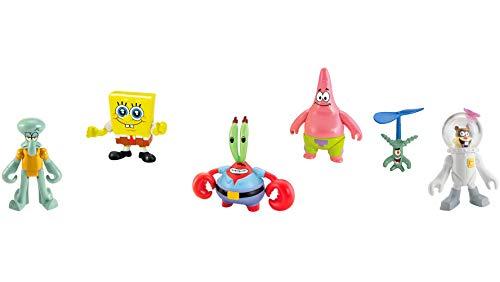 Fisher-Price Imaginext Spongebob Figure 6 Pack [Amazon Exclusive]