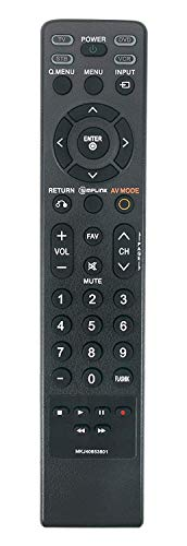 MKJ40653801 Replaced Remote fit for LG LCD Plasma TV 37LG50 37LG30 47LG50 42LGx 52LG50 32LG60 32LG70 37LG60 42LG70 42LG60 47LG70 47LG60 52LG70 52LG60 47LG90 42PG25 42LG50 50PG25 50PG60 60PG60 50PG70