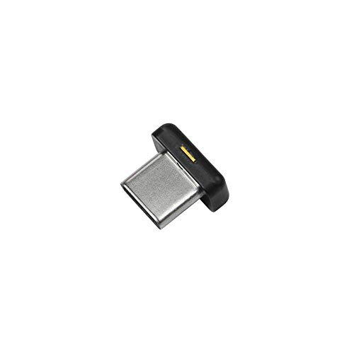 Yubico - YubiKey 5C Nano - Two Factor Authentication USB Security Key, Fits USB-C Ports - Protect Your Online Accounts with More Than a Password, FIDO Certified USB Password Key, Extra Compact Size