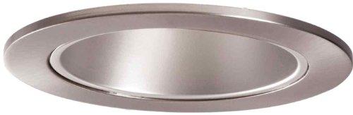 HALO Recessed 999SN 4-Inch Trim Reflector Cone Trim with Satin Nickel Reflector, Satin Nickel