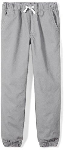 Amazon Brand - Spotted Zebra Kids Boys Woven Jogger Pants, Grey, X-Small