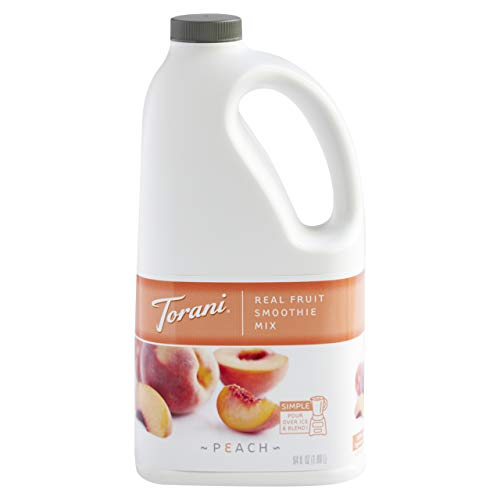Torani Real Fruit Smoothie Smoothie Mix, Peach, 64 Ounce