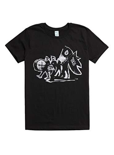 Hot Topic My Chemical Romance Marching Band T-Shirt Black