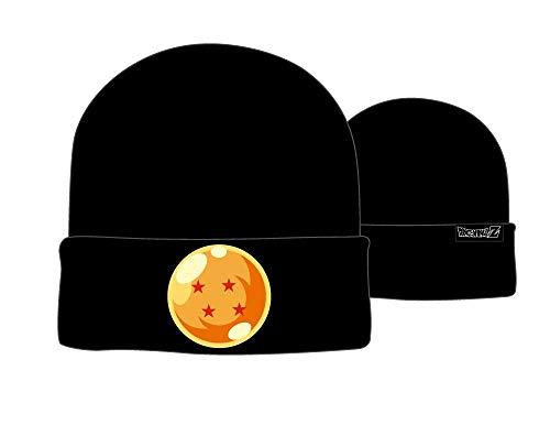 Boys Dragon Ball Z Winter Hat Knit Boys Dragon Ball Z Hat Black