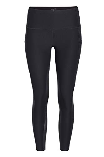 Layer 8 Women's Workout Running Yoga Capri and Legging (Small, Black)