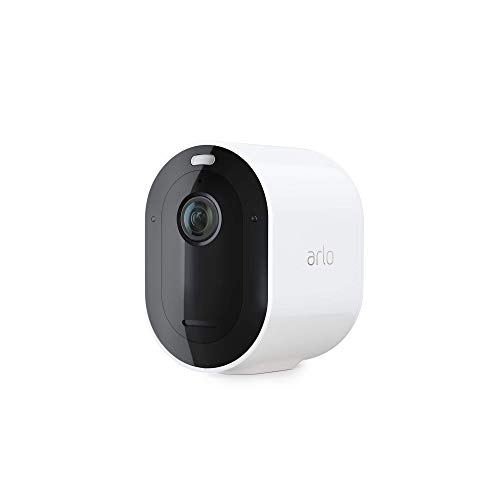 Arlo Pro 3 Spotlight Camera - Add on - Wireless Security, 2K Video & HDR, Color Night Vision, 2 Way Audio, Requires a SmartHub or Base Station Sold Separately, White - VMC4040P-100NAR (Renewed)