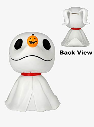 Nightmare Before Christmas 22653 Zero PVC Bank Novelty, Multicolor