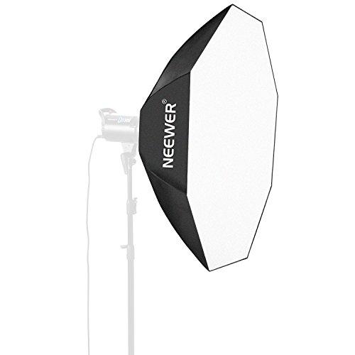 Neewer 30'x30' / 80cmX80cm Octagon Umbrella Speedlite Softbox with Bowens Mount Speedring for Nikon, Canon, Sony, Pentax, Olympus, Panasonic Lumix, Neewer Speedring Flash and Other Small Strobe Flashes