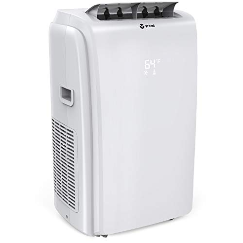 Vremi 12,000 BTU Portable Air Conditioner with Heater Mode - Conveniently Cools Rooms 350 to 500 Square Feet