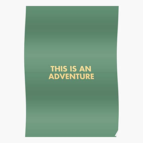 kineticards Wes The Anderson Aquatic Films Movie an Quote Adventure Quotes is This Life | Home Decor Wall Art Print Poster