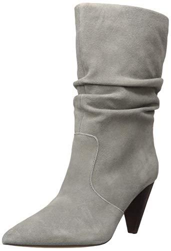 kensie Women's Kenley Mid Calf Boot, Grey, 9 M US