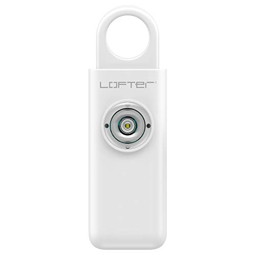 Self Defense Siren, LOFTer Safe Sound Personal Alarm Keychain with SOS LED Lights 130dB Emergency Safety Personal Security Alarm for Kids & Elderly, Women Security Sound Safety Siren (1 Pack)
