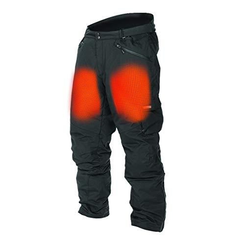 Mobile Warming Unisex-Adult Dual Power Heated 12.v Pants (Black, X-Large)