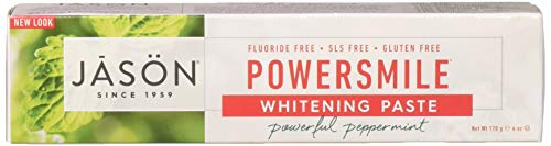 JASON NATURAL PRODUCTS TPSTE,POWERSMILE, 6 OZ (Pack of 3)