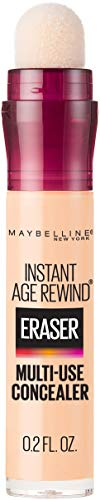 Maybelline Instant Age Rewind Eraser Dark Circles Treatment Multi-Use Concealer, Ivory, 0.2 Fl Oz (Pack of 1)