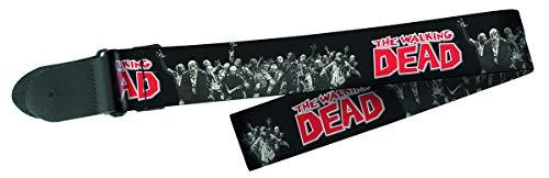 Peavey Walking Dead Zombie Group Logo 2-Inch Width Polyester Guitar Strap