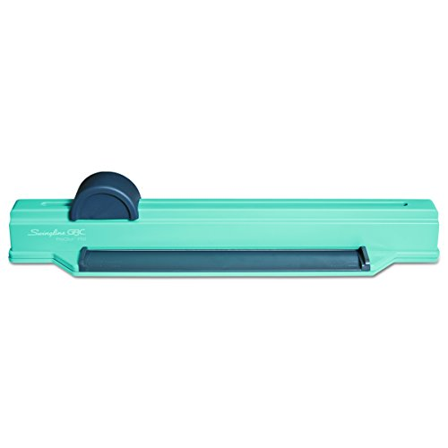 Swingline GBC Binding System, Manual, Desktop Binding Punch, 6 Sheet Punch Capacity, ProClick P50 (2515650) , Blue